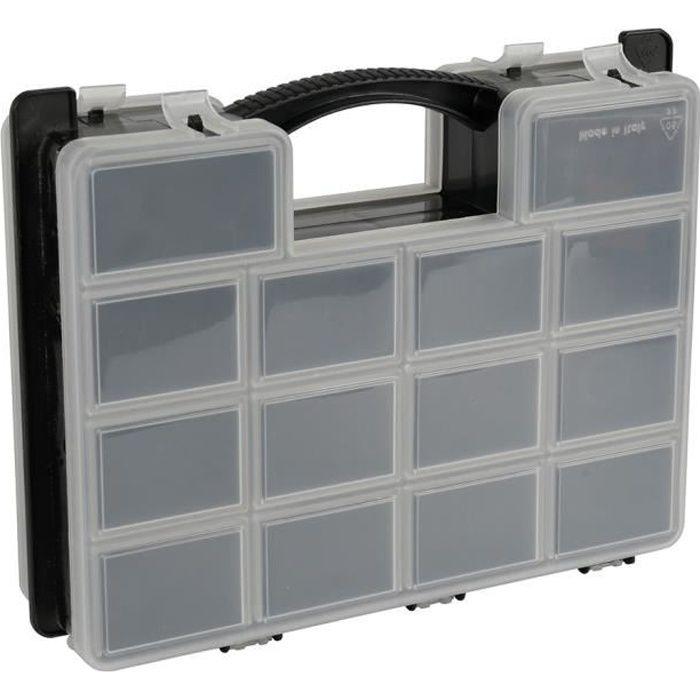 COGEX Boîte de rangement à casier double face