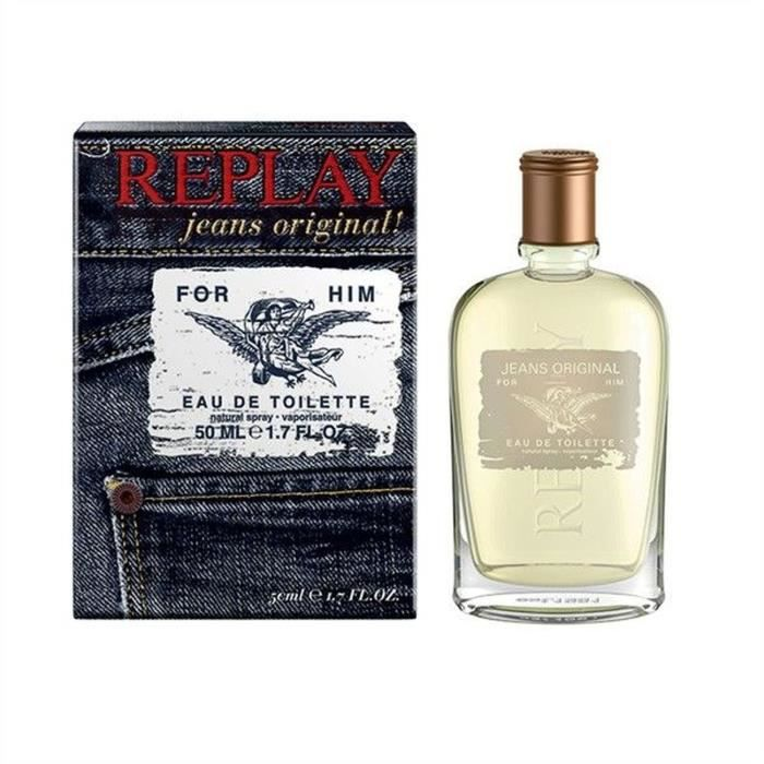 REPLAY JEANS ORIGINAL FOR HIM EDT 30 ML