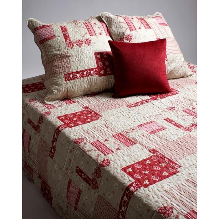 Couvre lit boutis 1 place Montagne - Achat / Vente jetée de lit ...