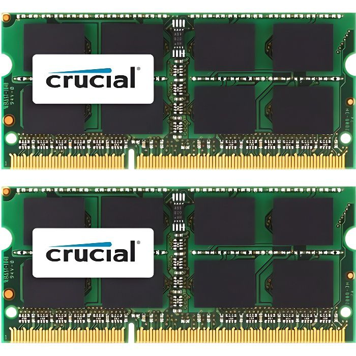 MÉMOIRE RAM CRUCIAL CT2C4G3S1339MCEU MÉMOIRE RAM POUR MAC 8 GO