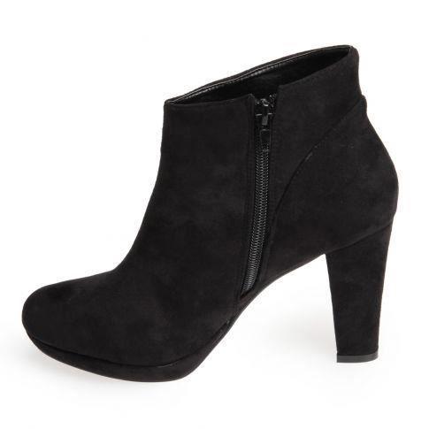0a660993cec La Modeuse Low boots Hype noir Noir - Chaussures Bottine Femme GH8HUA1Z -  destrainspourtous.fr