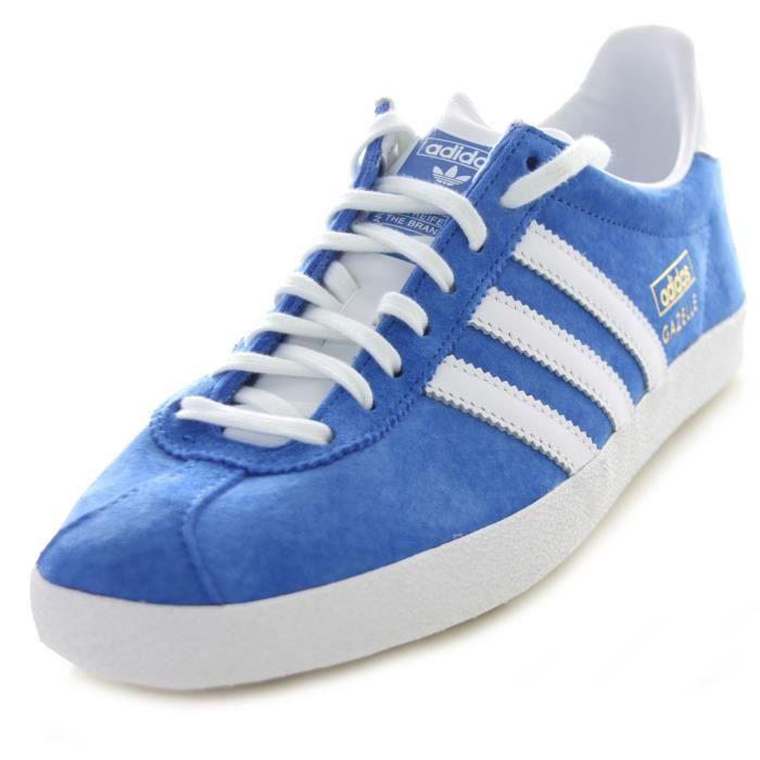 adidas original gazelle bleu