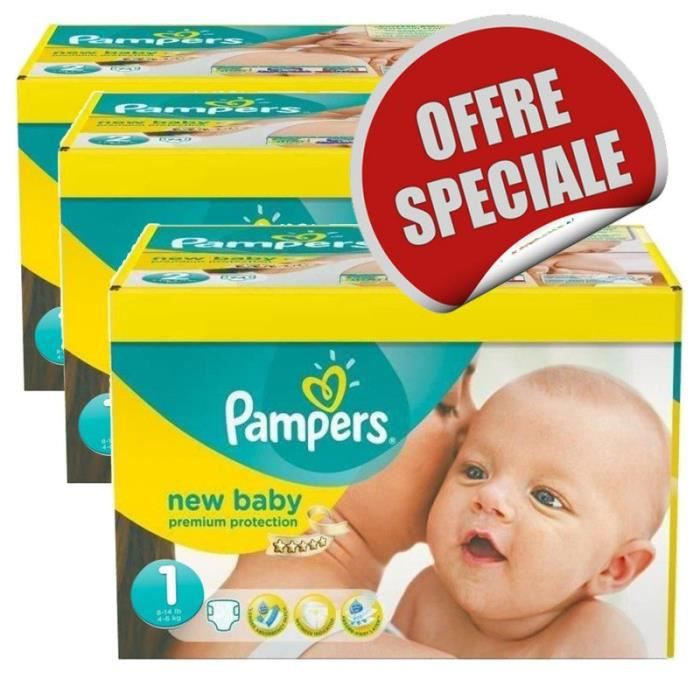 Maxi Pack 516 Couches Pampers New Baby Dry Taille 1 Achat Vente