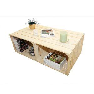 table basse table basse 4s o kit prt assembler caisses - Table Basse En Caisse En Bois