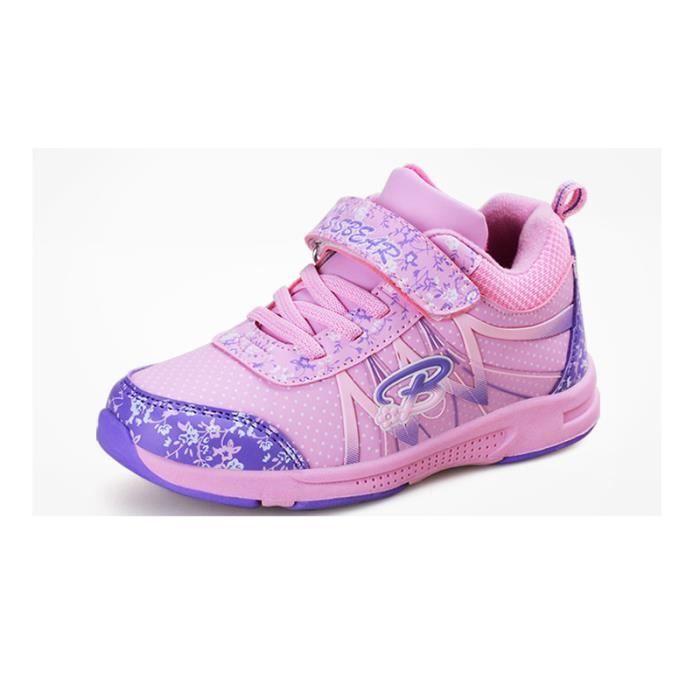 Basket Enfant hiver Sport Plus cachemire Ultra léger Chaussure BJXG-XZ211Violet35-2