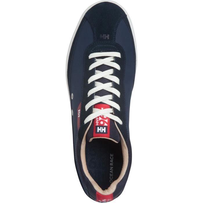 VESTERLY bleu marine-rouge-blanc cassé - Baskets homme HELLY HANSENBLEU MARINE-ROUGE-BLANC CASSÉ