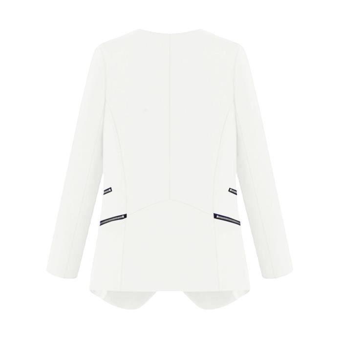 Les Manches App8580 Solide Cardigan Zipper En Femmes Longues Hauts Avec Manteau Vrac aqqxO6wp