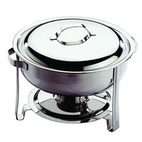 BOITE ALIMENTAIRE CHAFING DISH ROND ECO INOX