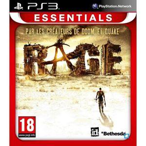 JEU PS3 Rage Essentials  Jeu PS3