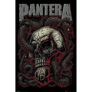BATTERIE VÉHICULE Pantera Snake Eye Poster avec accessoire bigarré