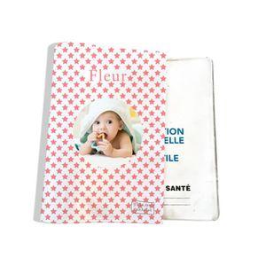 PROTÈGE CARNET SANTÉ Protège carnet de santé personnalisé bébé - photo