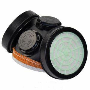 LUNETTE - VISIÈRE CHANTIER Anti-poussière Masque double filtre de protection