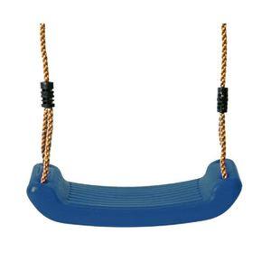 BALANÇOIRE - PORTIQUE Siège balançoire en plastique bleu Swing King