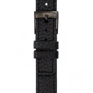 MONTRE LA TROTTEUSE Bracelet Cuir Noir Mixte