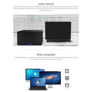 DISQUE DUR EXTERNE ORICO NS800-C3 8 baies USB-C - Type-C 3.1 à SATA D
