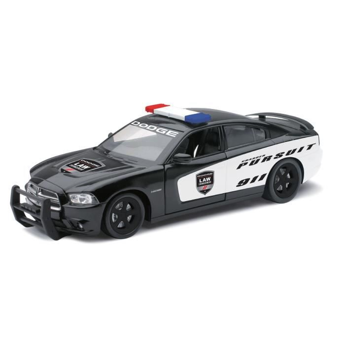NEWRAY Vehicule Police USA Dodge Charger Miniature - 1/24° - 19,5 cm
