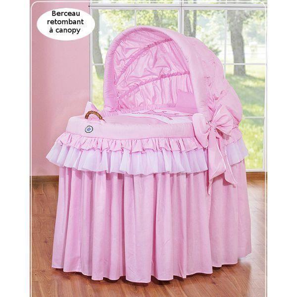 berceau bebe en osier achat vente pas cher. Black Bedroom Furniture Sets. Home Design Ideas