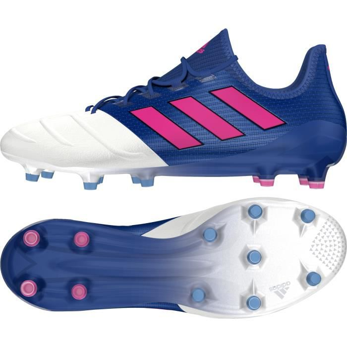 new product e34bc 69975 ... CHAUSSURES DE FOOTBALL Chaussures adidas ACE 17.1 Cuir FG cozy fresh  342cb 60c04 ...