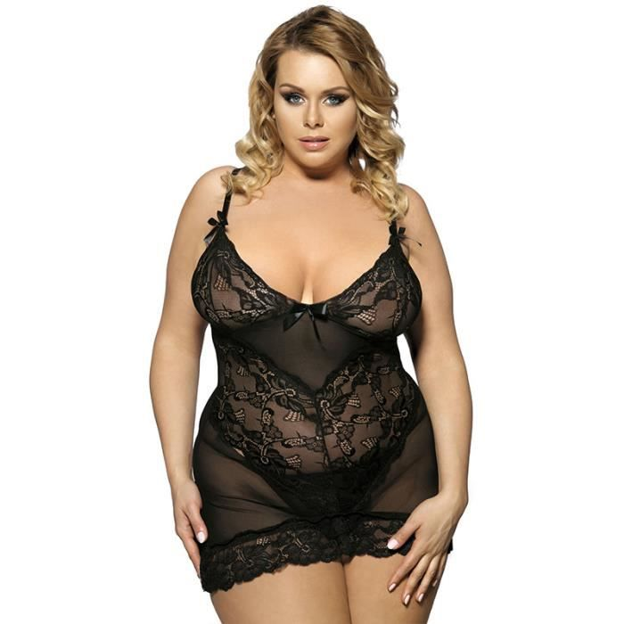 lingerie sexy femme grande taille