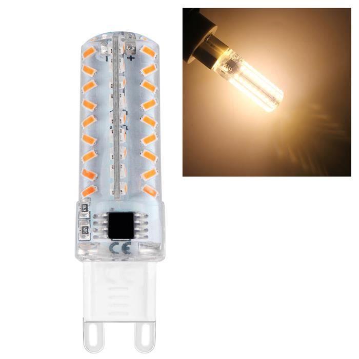 Lot De 4 G9 Ampoule Led 7w Super Lumineux Led Lampe 72 Smd 3014 Spot