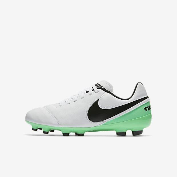new styles 77639 1d505 CHAUSSURES DE FOOTBALL Nike Tiempo Jr Legend VI FG, Sol ferme, Enfant, Mâ
