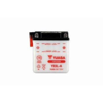 BATTERIE VÉHICULE YUASA - Batterie moto YB3L-A L 99mm W 57mm H 111mm