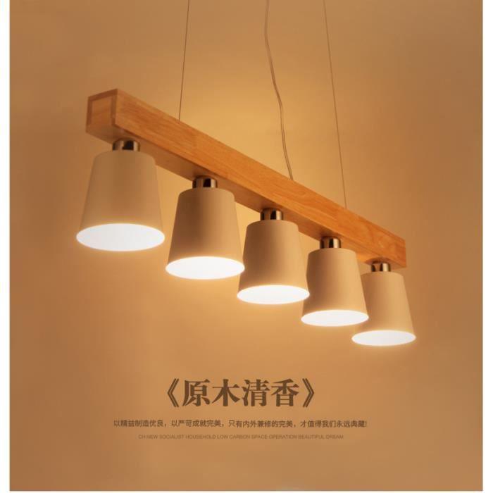lustre suspensions design en bois massif et metal usa village et simple style lustre. Black Bedroom Furniture Sets. Home Design Ideas