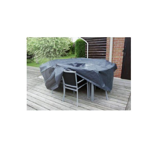 Housse de protection L 325 x l 205 x H 90 cm pour salon de jardin ...