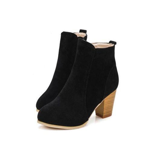 D'automne Hauts Chaussures Cheville Talons Martin à Bottes Jeffrey®bottes noir Femmes LVSzMUGqp