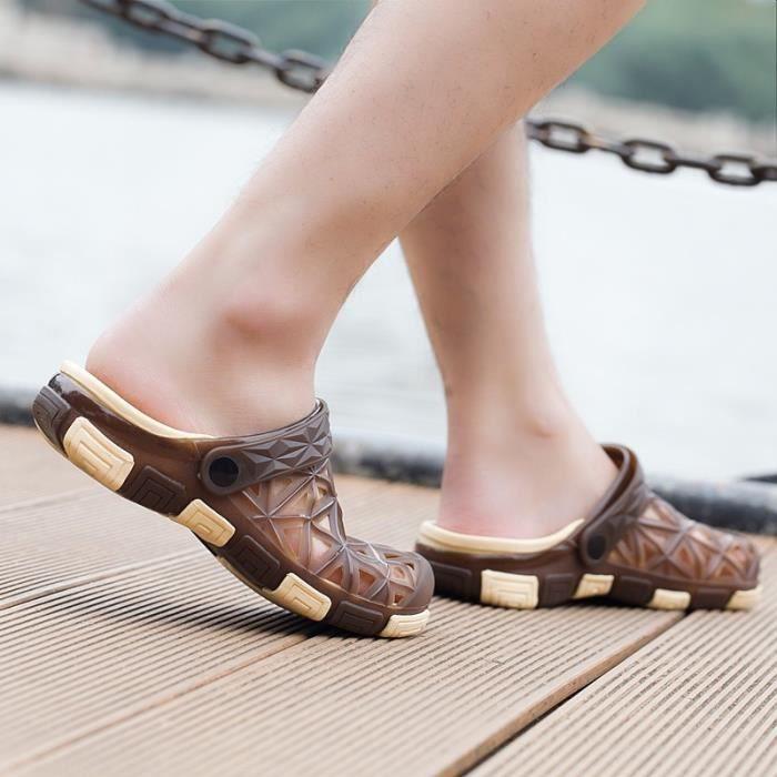 Sandales de mode pour les hommes d'été Garçons Chaussures Casual Respirant T6W9FPBUV