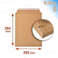 ENVELOPPE Lot de 50 Enveloppes carton B-Box 6 MARRON format