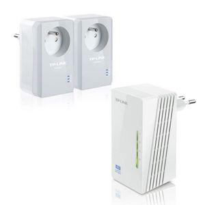 TPLINK 2xCPL + Extenseur CPL AV500 Wi-Fi N300