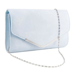 POCHETTE Anladia Sac a main soiree besace Velours- Glitter
