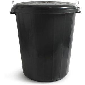 POUBELLE - CORBEILLE Poubelle avec couvercle 100 litres