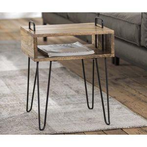 TABLE D'APPOINT Table de nuit ou d'appoint design industriel KINGS
