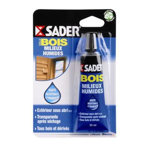 COLLE   PATE FIXATION SADER Colle Bois Pour Milieux Humides   Tube 55ml ...