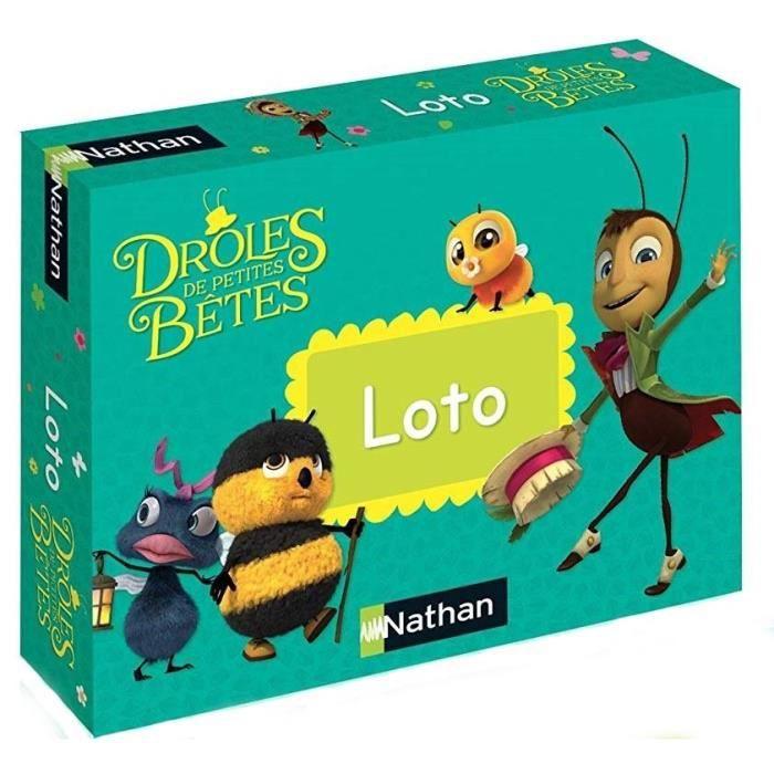NATHAN Drôles de Petites Bêtes - Loto