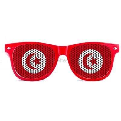 Lunettes Drapeau Tunisien - Achat   Vente lunettes de soleil Mixte ... 576fadfc927a