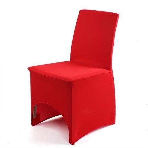 housse chaise extensible en lycra - achat / vente housse chaise
