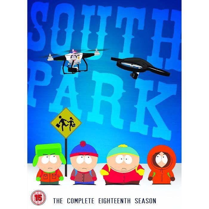 DVD FILM South Park - The Complete 18Th Season [Edizione: R