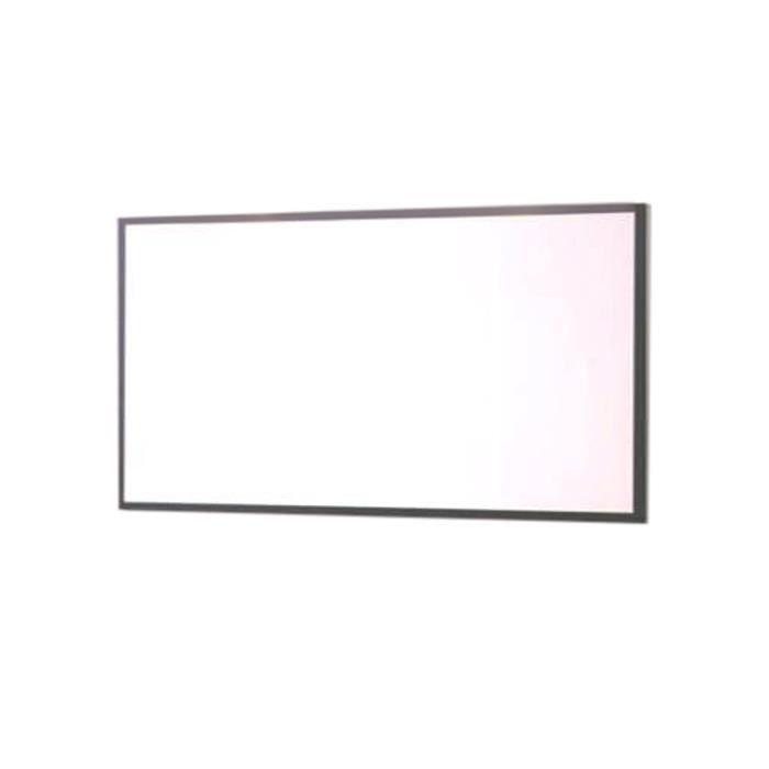 Miroir 120 X 60 Cm Cadre Wenge Sumo Marron Fonce Achat Vente