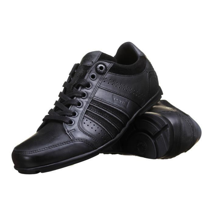 78087c2e7286f Chaussure Levis 223118 Regular Black Noir - Achat   Vente basket ...