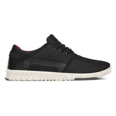 Chaussures Etnies Scout Black White Grey