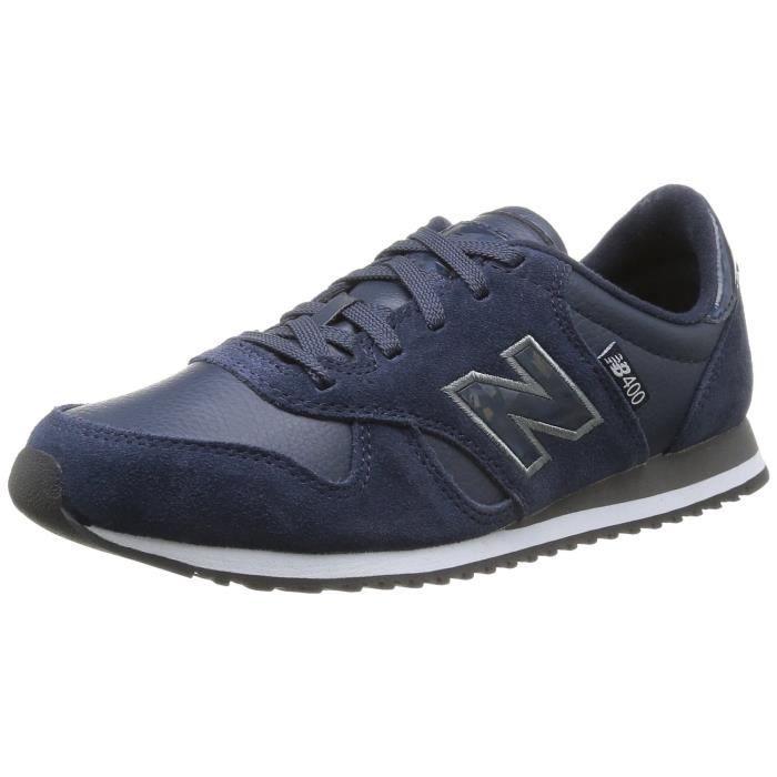 new balance cuir bleu