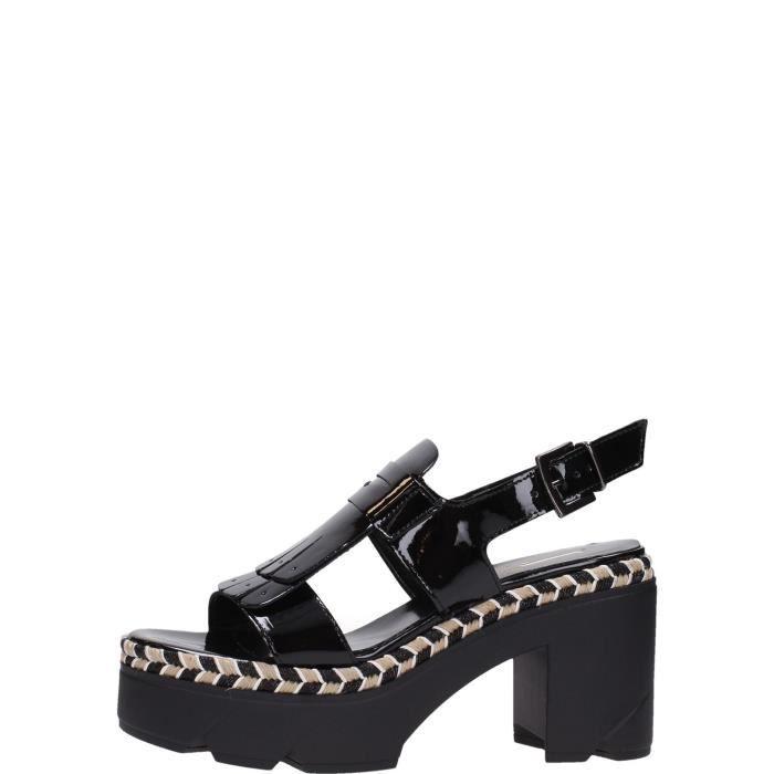 Jeannot Sandal Femme Black rKQm6F