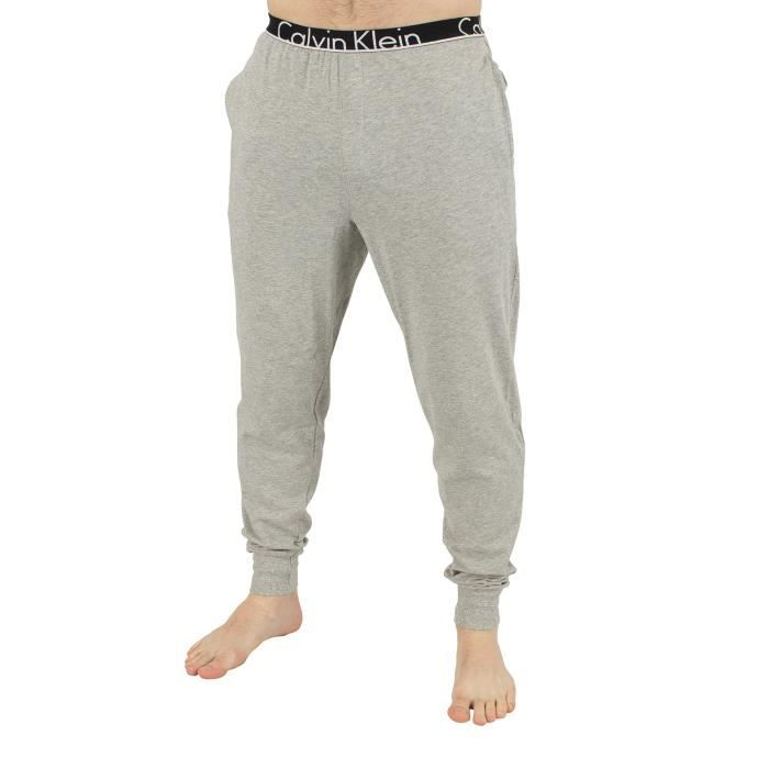 Calvin Klein Homme Logo Marled Pyjama Bottoms, Gris Gris Gris ... 78f1d585686