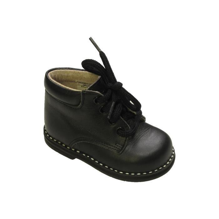 Et Gemo Taille Bottines Boots 18 Noir Hiver880085 Bébé Garçon j54ARL