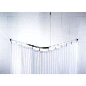 barre de douche arrondie achat vente barre de douche arrondie pas cher soldes d s le 10. Black Bedroom Furniture Sets. Home Design Ideas