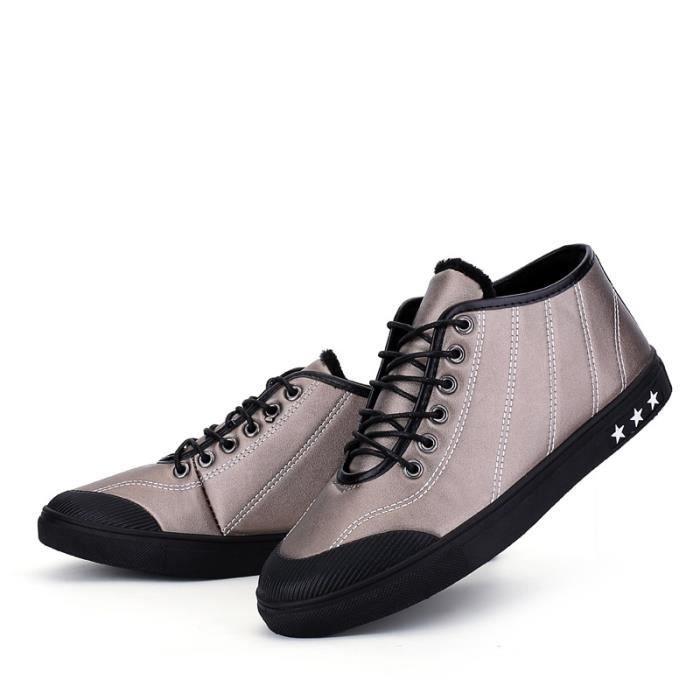 Skateshoes Homme Korean Fashion StyleSkater chaud noir taille8.5