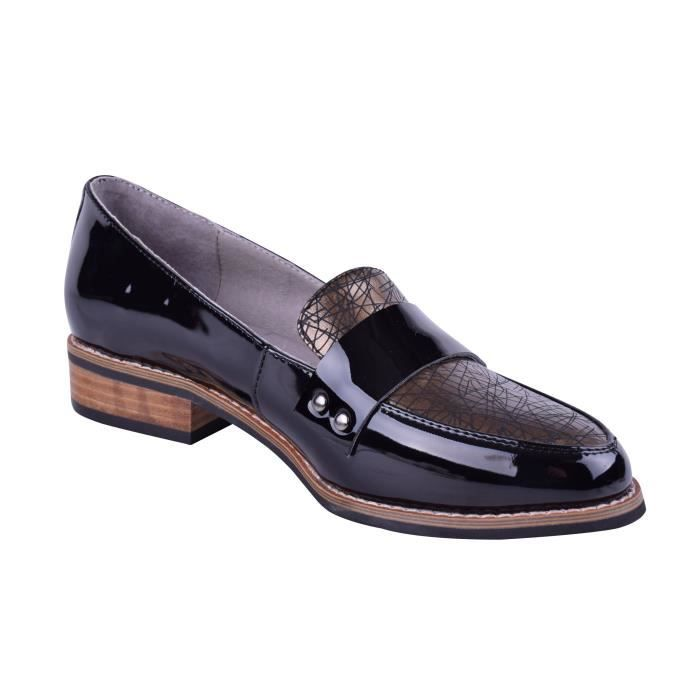 Size 9-13 Leather Slip-on Loafers Elegant Comfortable Dress Flat Shoes Wide U2EWI Taille-40